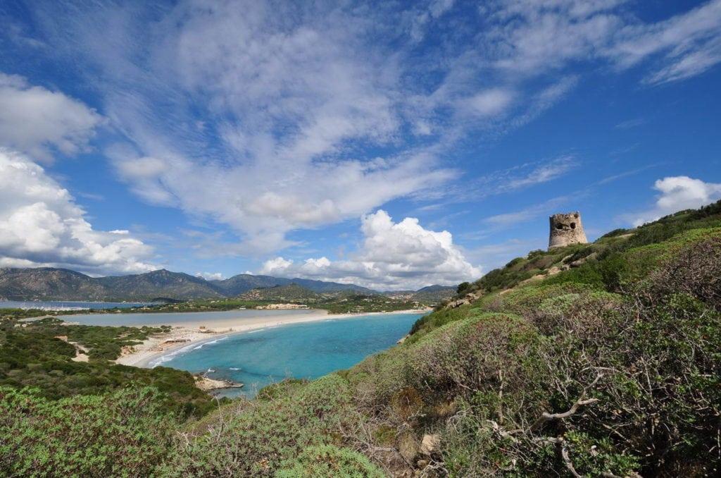 Torre e Spiaggia di Porto Giunco