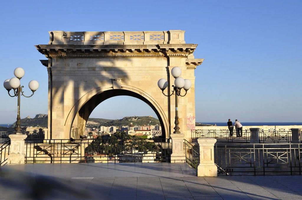 Cagliari - Il Bastione di Saint Remy